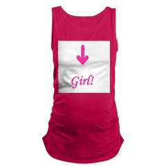 arrowgirl.jpg Maternity Tank Top