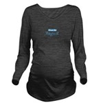 dueinaugust_blue_TR.png Long Sleeve Maternity T-Sh