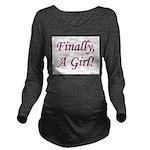 finallyagirl Long Sleeve Maternity T-Shirt
