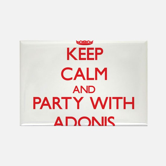 Keep Calm and Party with Adonis Magnets