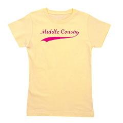 middlecousin_pink Girl's Tee