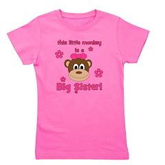thislittlemonkey_bigsister.png Girl's Tee