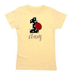 AVERY Ladybug 1st Birthday 1 Girl's Tee