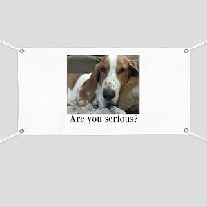 Annoyed Dog Banner