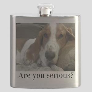 Annoyed Dog Flask