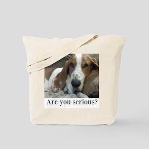 Annoyed Dog Tote Bag