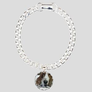 Annoyed Dog Charm Bracelet, One Charm