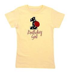 1_ladybug_birthdaygirl Girl's Tee