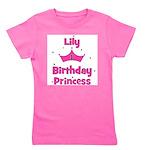 birthdayprincess_1st_LILY.png Girl's Tee