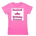 birthdayprincess_1st_SAVANNAH.png Girl's Tee