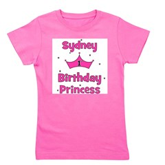 birthdayprincess_1st_SYDNEY Girl's Tee