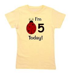 ladybug_im5today Girl's Tee