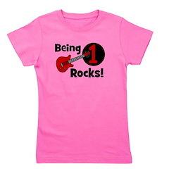 being1rocks_guitar.png Girl's Tee