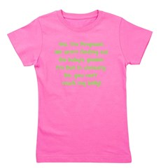 surprise_january_belly Girl's Tee