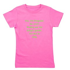 pregnant_july_TR Girl's Tee