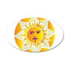 Smiling Sun Wall Decal