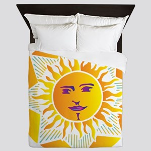 Smiling Sun Queen Duvet