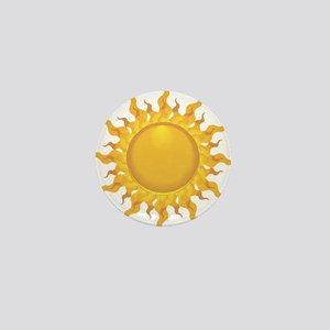 Sun Mini Button
