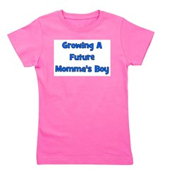 growingafuturemommasboy.png Girl's Tee