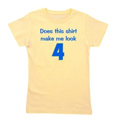 doesthisshirtmakemelook_4_blue.png Girl's Tee