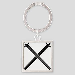 Crossed Swords Keychains