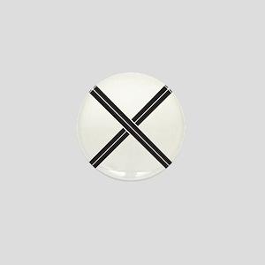 Crossed Swords Mini Button