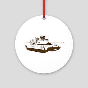 Tank Ornament (Round)