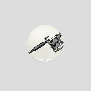 Tattoo Machine Mini Button