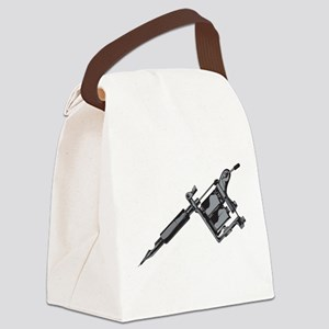 Tattoo Machine Canvas Lunch Bag