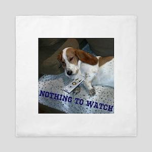 Lazy Dog Queen Duvet