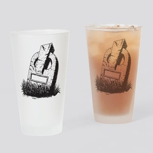 Tombstone Drinking Glass