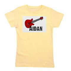 guitar_aidan.jpg Girl's Tee