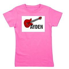 guitar_ayden Girl's Tee