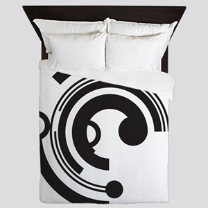 Tech Shapes Queen Duvet