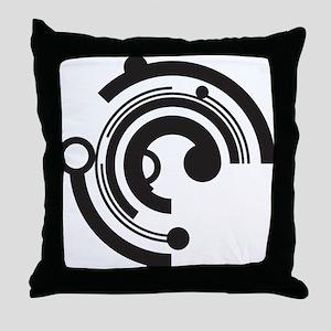 Tech Shapes Throw Pillow