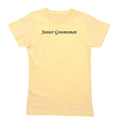 juniorgroomsman_black.png Girl's Tee