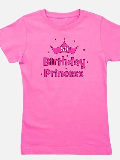 ofthebirthdayprincess_50th.png Girl's Tee
