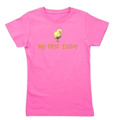 myfirsteaster.png Girl's Tee