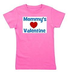 mommysvalentineheart Girl's Tee
