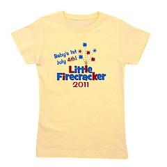 littlefirecracker_babys1st2011.png Girl's Tee