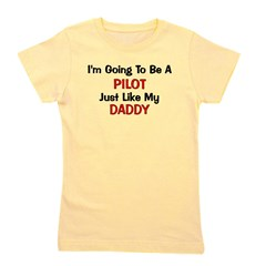 pilot_daddy.png Girl's Tee