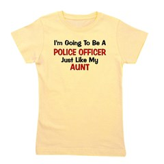 policeofficer_aunt.png Girl's Tee