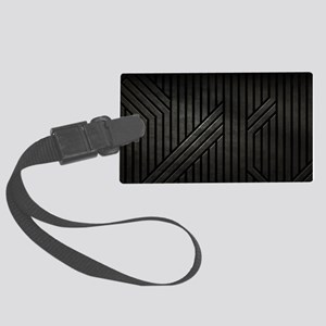 Stealth Black  Large Luggage Tag