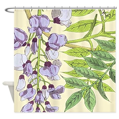 Wisteria Shower Curtain By Izmetsdream
