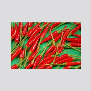 Red hot chili peppers Rectangle Magnet