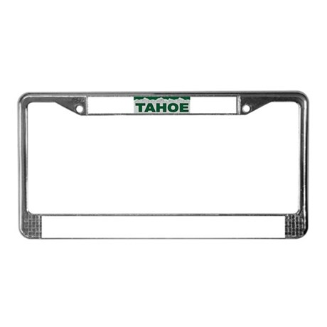 Tahoe License Plate Frame