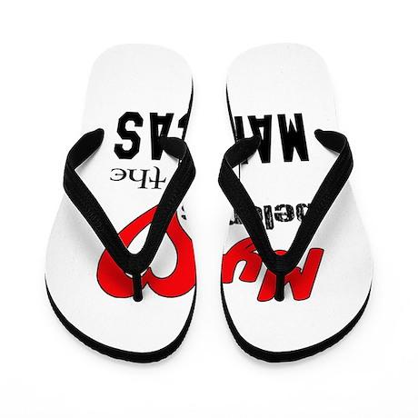 My Heart Belongs To The Maracas Flip Flops