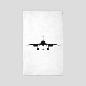 Aerospatiale BAC Concorde (parked) 3'x5' Area Rug