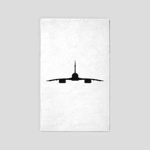 Aerospatiale BAC Concorde (front) 3'x5' Area Rug