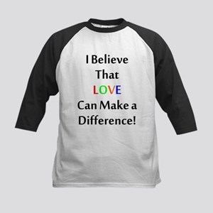 Love Can Make a Difference Baseball Jersey